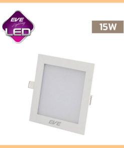 ดาวน์ไลท์ LED 15w สี่เหลี่ยม Slim EVE