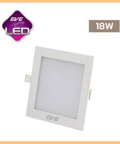 ดาวน์ไลท์ LED 18w สี่เหลี่ยม Slim EVE