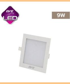ดาวน์ไลท์ LED 9w สี่เหลี่ยม Slim EVE