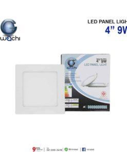ดาวน์ไลท์ LED สี่เหลี่ยม 9W (วอร์มไวท์) IWACHI