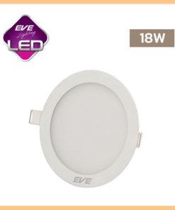 ดาวน์ไลท์ LED หน้ากลม 18w Slim EVE