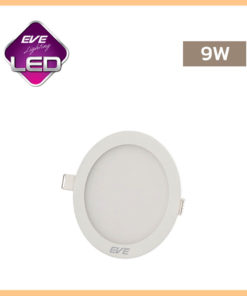ดาวน์ไลท์ LED หน้ากลม 9w Slim EVE