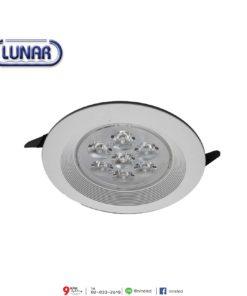 ดาวน์ไลท์ LED 5W (วอร์มไวท์) Lunar