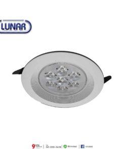 ดาวน์ไลท์ LED 7W (วอร์มไวท์) Lunar