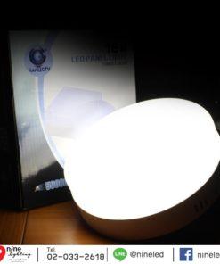 ดาวน์ไลท์ LED ติดลอยหน้ากลม 18W (เดย์ไลท์) IWACHI