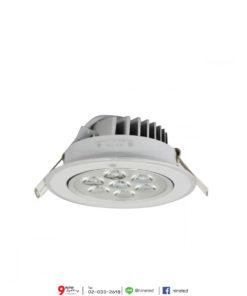 ดาวน์ไลท์ LED 7W (วอร์มไวท์) IWACHI