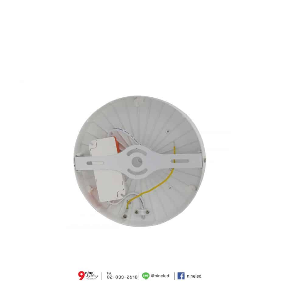 ดาวน์ไลท์ LED ติดลอย หน้ากลม 24W (วอร์มไวท์) FSL