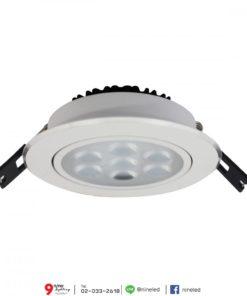 ดาวน์ไลท์ LED 8W (วอร์มไวท์) FSL