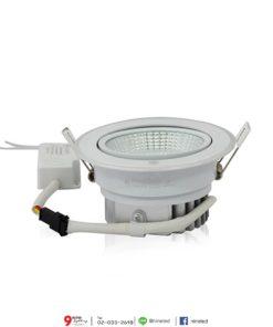 ดาวน์ไลท์ LED COB 8W (เดย์ไลท์) IWACHI