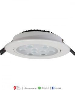ดาวน์ไลท์ LED 10W (วอร์มไวท์) FSL