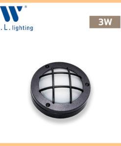 โคมไฟติดผนังภายนอก LED WLLIGHTING รุ่น WL-5512-3W