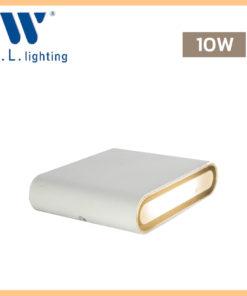 โคมไฟติดผนังภายนอก LED WLLIGHTING รุ่น WL-B34-10W-WH