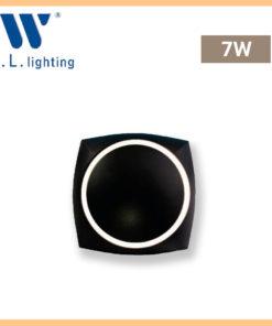 โคมไฟติดผนังภายนอก LED WLLIGHTING รุ่น WL-B37-7W-BK