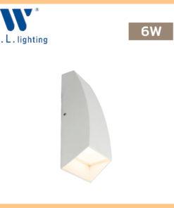 โคมไฟติดผนังภายนอก LED WLLIGHTING รุ่น WL-B41-2-6W-WH
